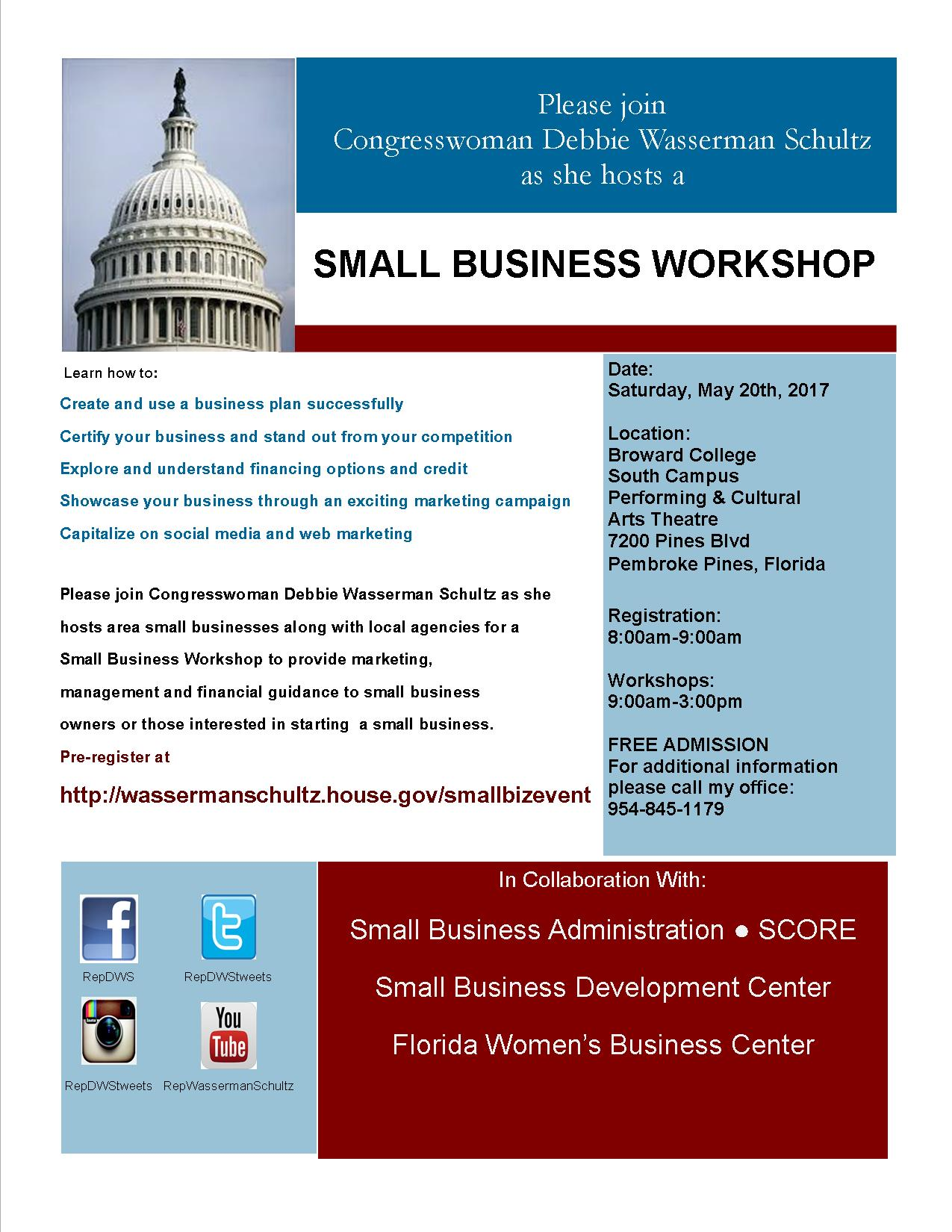 Small Business Workshop 2017